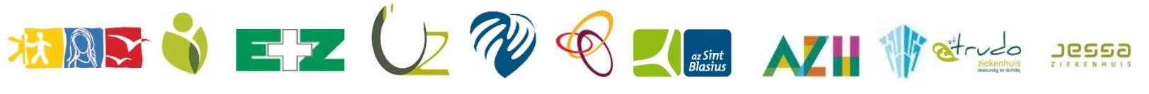 Deelnemende ziekenhuizen - logo